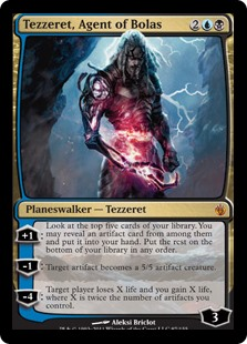 Tezzeret Agent of Bolas card