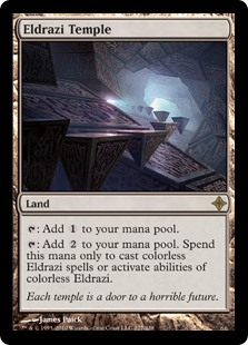 Eldrazi Temple card