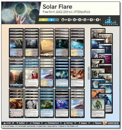 Solar Flare deck pic