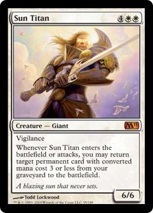 Sun Titan card