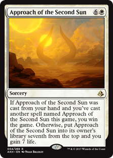Approach of the Second Sun card