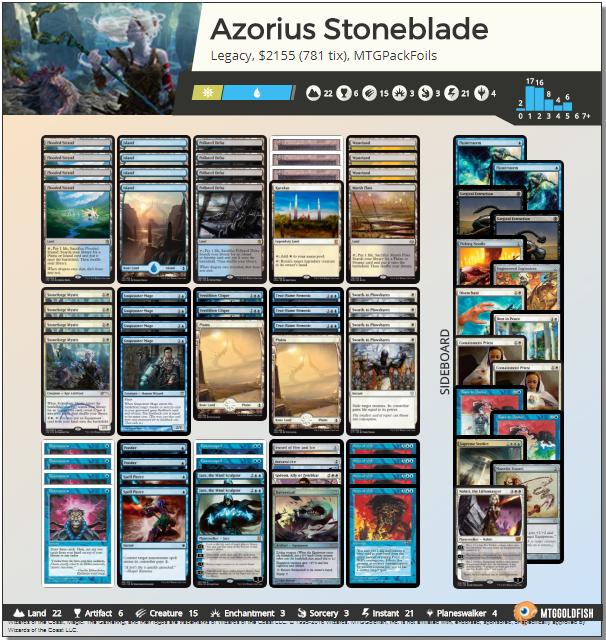 Azorius Stoneblade Legacy