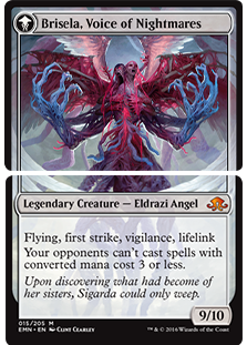 Brisela card gatherer