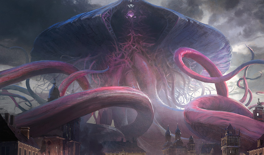 Emrakul the Promised End art