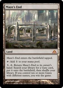 Maze's End Card