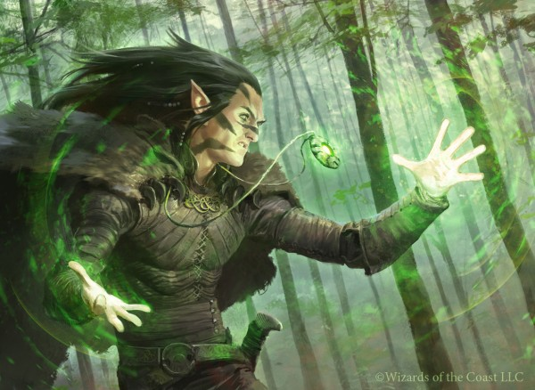 Elvish Mystic art
