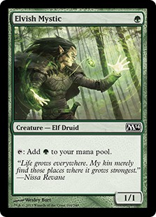 Elvish Mystic card