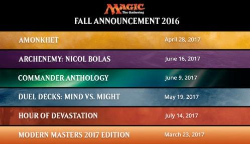Fall 2016 MTG