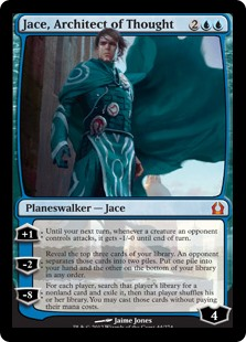Jace Architect of Thought card