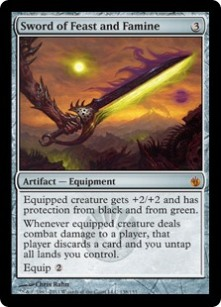 Sword of Feat and Famine card
