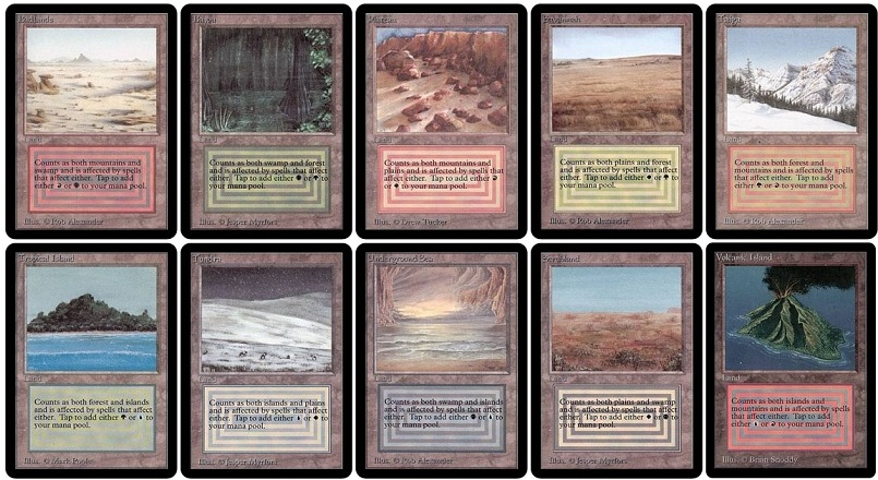 All dual lands