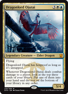 Dragonlord Ojutai card