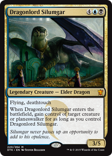 Dragonlord Silumgar card