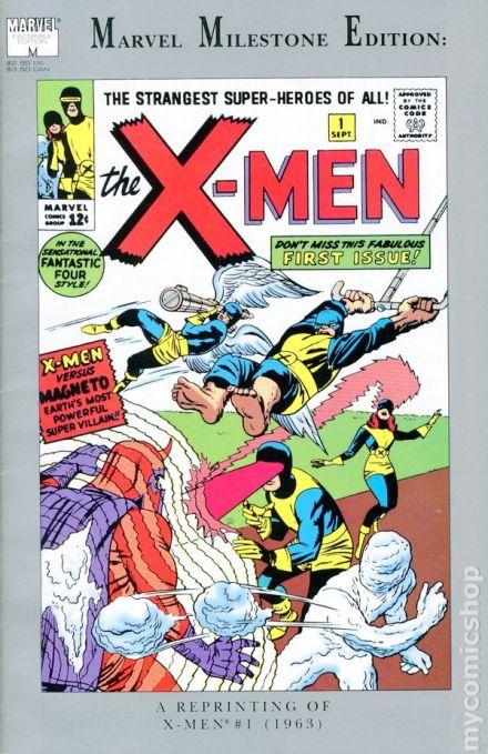 Marvel Milestone XMen 1