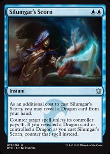 Silumgar's Scorn card